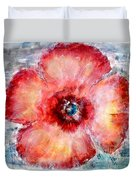 Adobe Poppy Duvet Cover