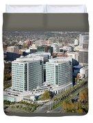 Adobe Systems Building San Jose California Duvet Cover