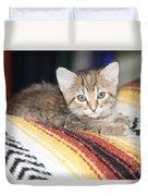 Adorable Kitten Duvet Cover