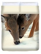 Adoring Love Duvet Cover by Karol Livote