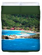 Adrenaline Beach - Cezanne II Duvet Cover