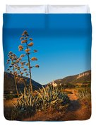 Adriatic Landscape Duvet Cover