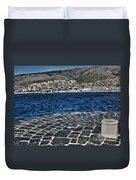 Adriatic Sea Duvet Cover