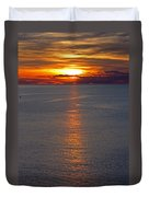 Adriatic Sunset Duvet Cover