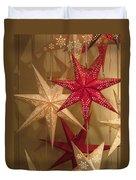 Advent Stars Duvet Cover