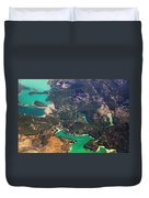 Aerial View Of Andalusia. Spain Duvet Cover