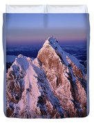 Aerial View Of The Grand Teton Duvet Cover