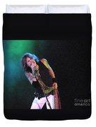 Aerosmith - Steven Tyler -dsc00139-1 Duvet Cover