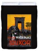 Afghan Hound Art - Luxor Poster Duvet Cover