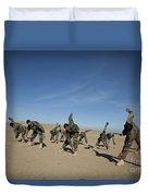 Afghan National Army Commandos Duvet Cover