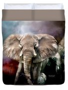 Africa - Protection Duvet Cover