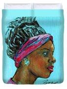 African American 5 Duvet Cover