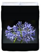 African Blue Lily Duvet Cover
