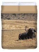 African Buffalo V2 Duvet Cover