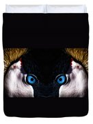 African Crowned Crane X2 Duvet Cover