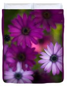 African Daisy Collage Duvet Cover