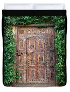 African Door Parker Palm Springs Duvet Cover