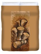 African Drums Duvet Cover