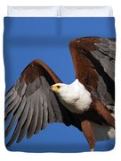 African Fish Eagle Duvet Cover