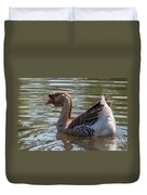 African Goose Duvet Cover