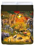 African Harmony Duvet Cover