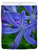 African Lily Duvet Cover