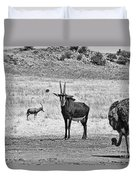 African Plains Duvet Cover