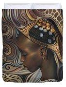 African Spirits II Duvet Cover