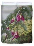 African Tulip Tree Duvet Cover