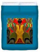 Afro Art Duvet Cover