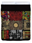 Afroecletic II Duvet Cover