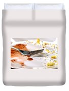 After Breakfast  Duvet Cover