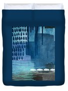 After Rain- Contemporary Abstract Painting  Duvet Cover