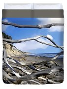 After The Storm Gaviota Duvet Cover