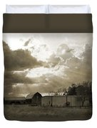 After The Storm On The Farm Duvet Cover