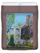Afternoon At Carnton Plantation Duvet Cover by Susan E Jones