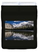 Afternoon At Dorothy Lake Duvet Cover
