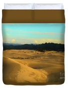 Afternoon At Oregon Dunes Duvet Cover