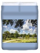 Afternoon At The Park Duvet Cover