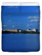 Afternoon At The Tidal Basin Duvet Cover