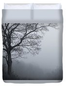 Afternoon Fog  Mono Duvet Cover