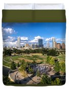 Afternoon In Austin Duvet Cover