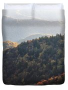 Afternoon On The Mountain Duvet Cover