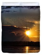 Late Afternoon Reflection Duvet Cover