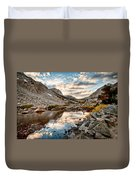 Afternoon Reflections Duvet Cover by Cat Connor