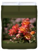 Afternoon Roses Duvet Cover
