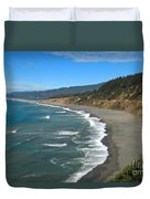 Agate Beach At Patricks Point Duvet Cover by Adam Jewell