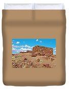 Agate House In Petrified Forest National Park-arizona  Duvet Cover