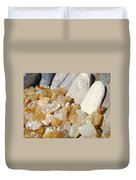Agate Rocks Beach Art Prints Agates Duvet Cover