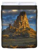Agathla Peak Monument Valley Duvet Cover